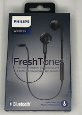 Philips FreshTones MyJam in Ear Wireless Bluetooth Headset, Black (SHB5250BK/27)