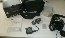 Nikon COOLPIX P510 16.1MP Digital Camera - Black 42x Zoom w/ case, box, CD, batt
