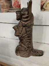 Vintage Cast Iron Scottie Dog Door Stop