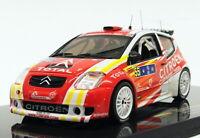 Ixo 1/43 Scale RAM245 - Citroen C2 S1600 - #55 Winner Tour De Corsa '06