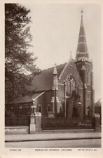 VINTAGE REAL PHOTO POSTCARD WESLYAN CHURCH CATFORD LONDON UNPOSTED