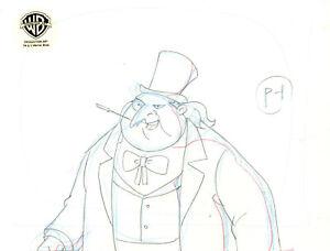 Batman the Animated Series Original Production Drawing-Penguin