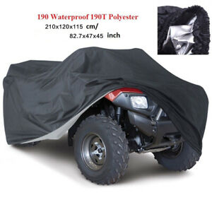 XL Waterproof Full ATV Quad Bike Cover Rain Dust All Weather Protector Outdoor