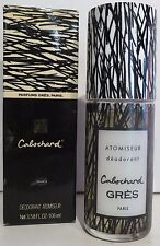 Gres Cabochard 106mL Deodorant Spray New/ORIGINAL PACKAGE RARE VINTAGE