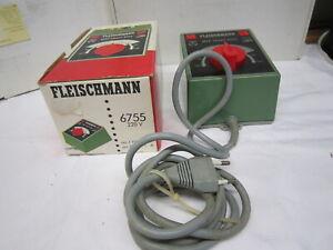 Fleischmann H0  6755 Universal-Transformator Gleichstrom mit MSF gebraucht OVP