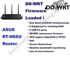 Asus RT-N66U RT-N66R Wireless Router, DD-WRT VPN Firmware,Can SETUP VPN service