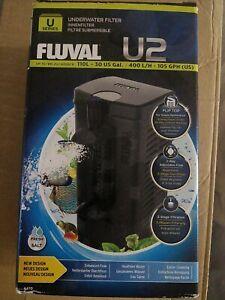 FLUVAL U2 UNDERWATER INTERNAL AQUARIUM FISH TANK POWER FILTER / BNIB / FAST P&P