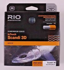 Rio Scandi 3D 5/6 390 Grain HIS3 Spey Head Glacial Gray Brown Free Ship 6-21287