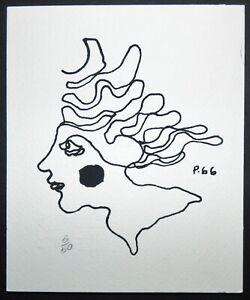 ISLAND WOMAN #4 // Cuba Serigraph by RENE PORTOCARRERO from Cuban Poster Gallery