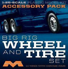 Moebius Models [MOE] 1:25 Big Rig Wheel and Tire Set (10) MOE1010