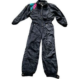 Descente Ski Suit Large Black D1-8242