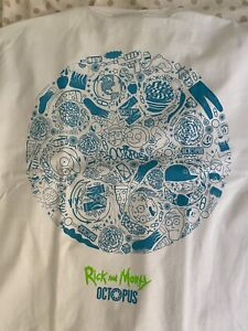 """Octopus Brand x Rick And Morty """"Circle Logo""""Limited Edition Tee (tha Supreme)"""