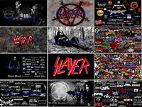 Rock Heavy Metal Band Black Slayer Flag Banner 3x5 ft 90x150cm Free Shipping