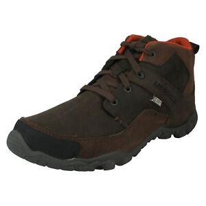 MENS MERRELL TELLURIDE MID WATERPROOF J23513 LACE UP HIKING WALKING BOOTS SIZE