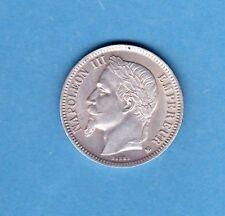 (F.129) MONNAIE DE 1 FRANC NAPOLÉON III 1868 BB STRASBOURG (FDC)