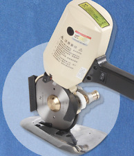 New 110mm Cloth Cutter Fabric Cutting Machine Shear Rotary Electric Scissors