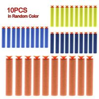 50pcs Soft Sponge Foam Toy Game Kids Gun Suction Cup Blaster Strike Bullet Darts