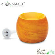 Aromamatic Saffron Swirl Coral-Vaporizer - For Essential Oils & Soy Wax Melts
