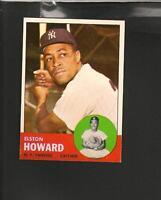 8085* 1963 Topps # 60 Elston Howard NM