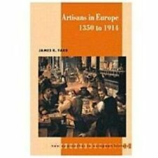 Artisans in Europe, 1300-1914 (New Approaches to European History)-ExLibrary