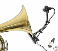 Easy Mount Instrument Mic Horn Saxophone Microphone for Audio-Technica Wireless