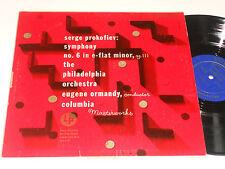 PROKOFIEV Ormandy Alex Steinweiss Art Philadelphia Orch. Columbia ML 4328 album