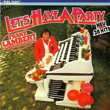 FRANZ LAMBERT - CD - LET´S HAVE A PARTY
