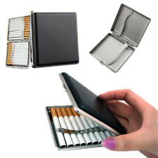 Holder Box Pocket PU Leather Tobacco Container Mens Cigarette Case Fashion 20pcs