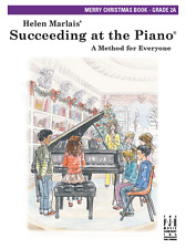 HELEN MARLAIS-SUCCEEDING AT THE PIANO-MERRY CHRISTMAS MUSIC BOOK 2A-NEW ON SALE!