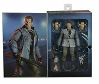"T-800 Terminator Tech Noir Club Arnold Schwarzenegger 7"" 18cm Action Figur Neca"