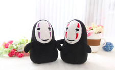 15cm Spirited Away Faceless Man No Face Plush Pendant Ghost Toys Doll Set of 2