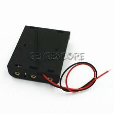 Neu Plastic Battery Case Box Holder with Wire Lead for 3XAA 3*AA 4.5V