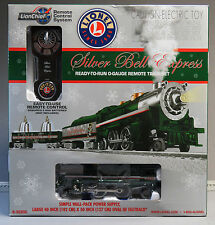 LIONEL SILVER BELLS LIONCHIEF REMOTE CONTROL SYSTEM TRAIN SET o gauge 6-30205