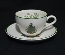 Cuthbertson England Original Christmas Tree Tea Cup and Saucer