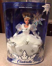 Holiday Princess - Cinderella Barbie Doll by Mattel - Walt Disney - Nib
