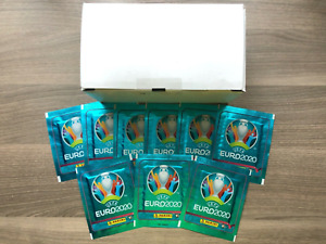 Panini EURO 2020 NO PREVIEW sticker box (170 packs) sealed