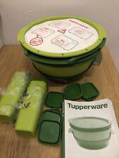 TUPPERWARE Micro Vap + insert + 8 ramequins +  Neuf