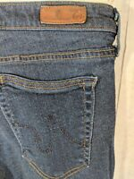AG ADRIANO GOLDSCHMIED Womens Size 26R Super Skinny The Legging Jeans Dark Wash