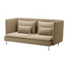 NEW IKEA SÖDERHAMN SODERHAMN High Sofa Couch Cover Slipcover - Replosa Beige