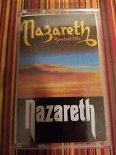 NAZARETH - Greatest Hits Import Cassette Tape   Hard Rock Metal Ireland New Case