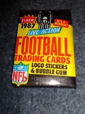 1987 Fleer Football Wax Pack (x1) Fresh from Box!
