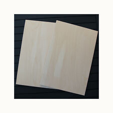 2 A4 BIRCH PLYWOOD PLAQUES 11 3/4 x 7 3/4 INCHES APROX  PYROGRAPHY CRAFT BLANKS