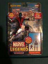 marvel legends Toybiz Nightcrawler Galactus BAF Series Carded