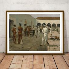 FREDERIC REMINGTON AMERICAN IMPRESSIONIST MIER EXPEDITION 34X22 INCHES P/P