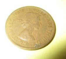 Elizabeth II Half Penny Coin 1954 England Great Britain  E504 PL