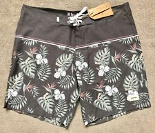 ~ RHYTHM. ~ NEW Mens Board Shorts Swim Boards Rhythm ~ Size 36 ~ BNWT