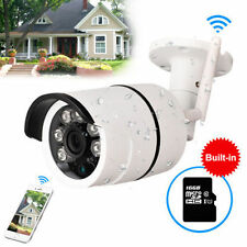 720P Outdoor Wireless WIFI IP Camera Slot Network Night Vision CCTV Security New
