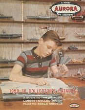 Aurora Collector's Catalog 1959-60 Model Kits