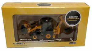 Oxford Diecast JCB 3CX Eco Backhoe Loader Die-Cast Model - 1/76 Scale
