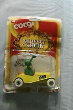 1979 Corgi Muppet Show Kermit #2030 Vehicle Original Package RARE (1739)